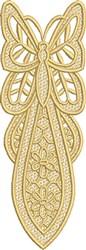 FSL Butterfly Bookmark E embroidery design