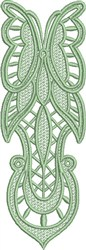 FSL Butterfly Bookmark G embroidery design