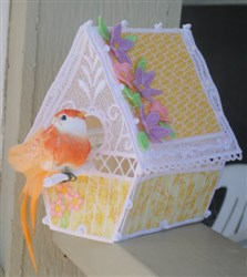 FSL Bird House embroidery design