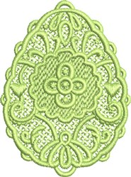 FSL Egg embroidery design