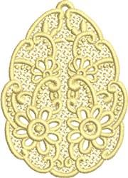 FSL Flower Egg embroidery design