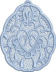 FSL Heart Egg embroidery design
