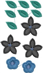FSL Miniature Flower embroidery design