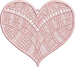 FSL Fancy Heart 5 embroidery design