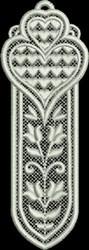 FSL Heart Bookmark 7 embroidery design