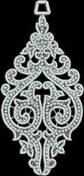 FSL Spire Ornament embroidery design