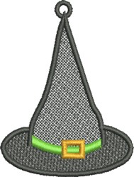 FSL Witchs Hat embroidery design