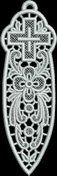FSL Bible Bookmark embroidery design