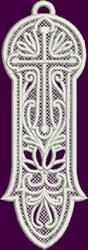 FSL Lace Bookmark embroidery design