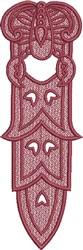 FSL Scorpio Bookmark embroidery design