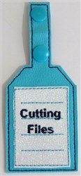 ITH Flash Drive Tag 5 embroidery design