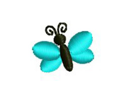 Tiny Butterfly embroidery design