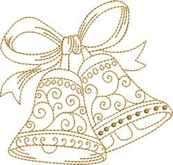 Golden Bells   embroidery design