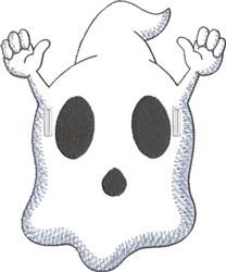 Felt Ghostee 3 embroidery design