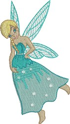 Blue Berry  Fairy embroidery design