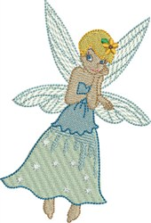 Vanilla Ice Fairy embroidery design
