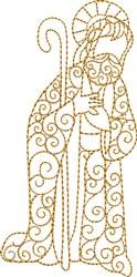 Nativity Joseph embroidery design
