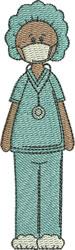 Surgical Nurse embroidery design