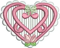Heirloom Heart embroidery design