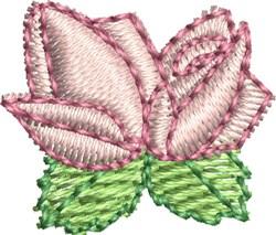 Heirloom Rosebuds embroidery design