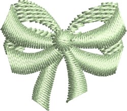Heirloom Bow embroidery design
