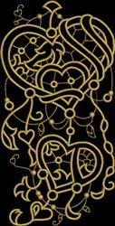 Renaissance Fretwork embroidery design