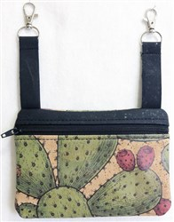 ITH Cork Hip Bag Small embroidery design
