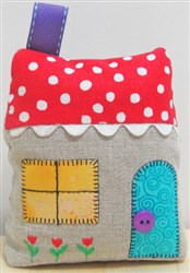 Home Pincushion embroidery design