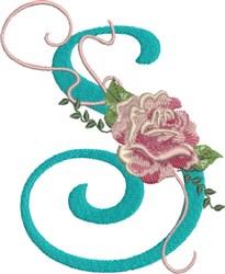 Harrington Rose S embroidery design