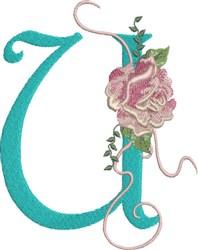 Harrington Rose U embroidery design