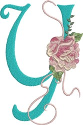 Harrington Rose Y embroidery design