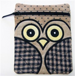ITH Owl Bag 1 embroidery design