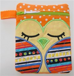 ITH Owl Bag 3 embroidery design