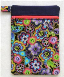 ITH Vertical Lined Zippered Bag 1 embroidery design