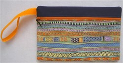 ITH Horizontal Lined Zippered Bag 2 embroidery design