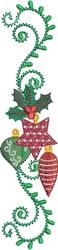 Christmas Balls embroidery design