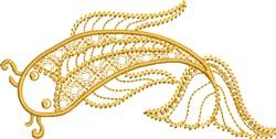 Koi Peace embroidery design