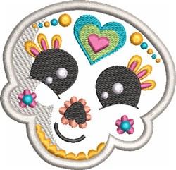 Kids Sugar Skull 3 embroidery design