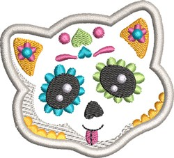 Kids Sugar Skull 5 embroidery design