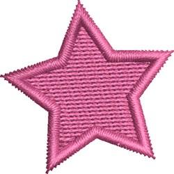 Kids Sugar Skull Coordinating Star embroidery design