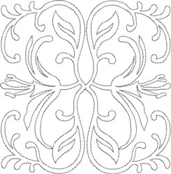 Quilt Decoration embroidery design