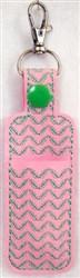 ITH Lip Balm Holder 4 embroidery design