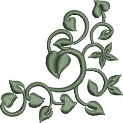 Leaf Embellishment 2 embroidery design