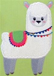 Llama Love 10 embroidery design