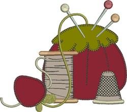 Pincushion Applique embroidery design
