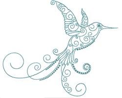 Magnificent Hummingbird 3 embroidery design