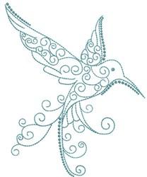 Magnificent Hummingbird 9 embroidery design
