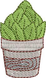 Mini Cactus 3 embroidery design