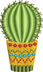 Mini Cactus 5 embroidery design