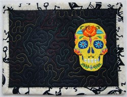 ITH Margarita Mug Rug 6 embroidery design